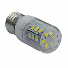 E27 4W LED Neutral White Light Corn Bulb - White (AC 220V)
