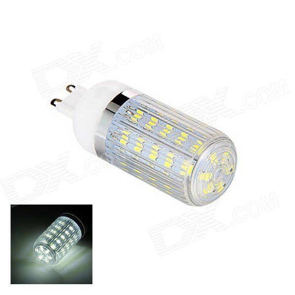 G9 6W LED Cold White Light Bulb - White (AC 220V)