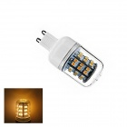G9 4W 165lm 3000K 60 x SMD 3528 Warm White Light LED Corn Bulb (AC 220V)