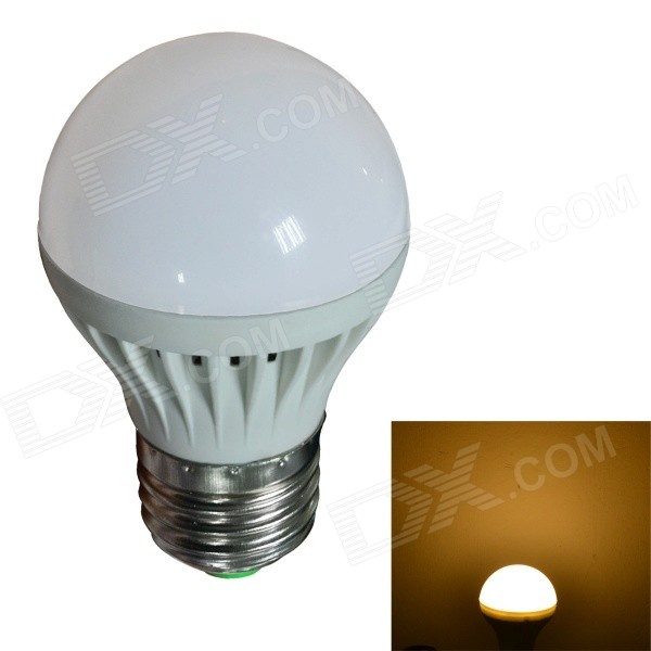 JIAWEN E27 3W 270lm 3200K 8-SMD 2835 LED Warm White Light Bulb