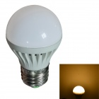 JIAWEN E27 3W 270lm 3200K 8-SMD 2835 LED Warm White Light Bulb - White (AC 220V)