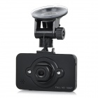 "2.3"" TFT 1080P FHD CMOS 160' Wide-Angle IR Night Vision Car DVR Camcorder w/ Voltage Step-Down Cable"