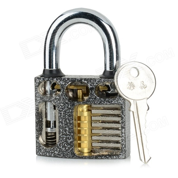 ZH-MH+KP Locksmith Training Practice Lock + Keys + Lock Picks Set