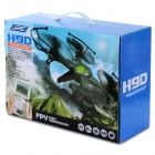 JJRC H9D-4 2.4GHz 4-CH 6-Axis Radio Control R/C Helicopter w/ Gyroscope / 300KP Camera (6 x AA)
