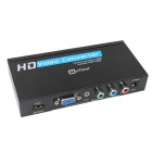 oTime OT-336A VGA / Ypbpr to HDMI Converter Up Scaler 1080P w/ USB - Black