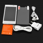 JIAKE V17 Android 4.4 Dual Core 3G Phone w/ 512MB, 4GB ROM - White
