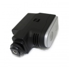 4W 6000K 250lm 2-LED hvitt lys video lampe for kamera - svart