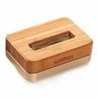 SAMDI 2639C Stylish Wooden Charging Station Cradle for IPHONE6/5S/5C/4S/4/3G - Golden + Wood