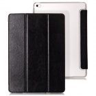 Mr.northjoe 3-Fold Protective PU Leather Case w/ Stand / Auto Sleep for IPAD AIR 2 - Black