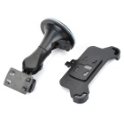 Car Mount Stand + Cellphone Holder Set for IPHONE 6 - Black
