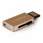 Ourspop OP-34 libro poco estilo USB 2.0 Flash Drive - oro (4GB)