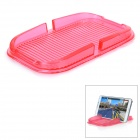 PVC Car Anti-Slip Non-Slip Mat Pad Holder for IPHONE / Samsung / Xiaomi / HTC & More - Red