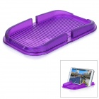 PVC Car Anti-Slip Non-Slip Mat Pad Holder for IPHONE / Samsung / Xiaomi / HTC & More - Purple