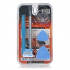 JAKEMY JM-8114 5-in-1 Disassembling Tool Set for IPHONE - Silver + Blue