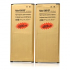 "Replacement 3.85V / ""4500mAh"" Li-ion Battery for Samsung Galaxy Note 4 / N9100 - Gold (2pcs)"