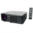 XPS200 1080P HD Projector Home Theater w/ HDMI / VGA / S-Video / YPbPr - Black (EU Plug)