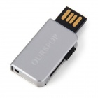 Ourspop OP-34 Little Book Style USB 2.0 Flash Drive - Silver (4GB)