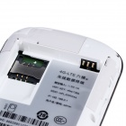 "Aoluguya L10 1.45"" 6-Standard 11-Frequency 10-User 4G FDD-LTE Wi-Fi Router - White"