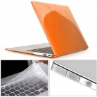 Mr.northjoe 3-in-1 Crystal Hard Case + Keyboard Cover + Anti-dust Plug for MACBOOK AIR 13.3""