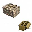 CADEN A13 Protective EVA + Nylon Sleeve Bag for Canon / Nikon DSLR Camera - Camouflage (L)