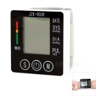 003 Wrist Style Electronic Blood Pressure Monitor - White + Black (2 x AAA)