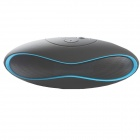 X6 America Football Shaped Mini Portable Bluetooth V3.0 Speaker w/ TF / 3.5mm - Black + Blue