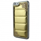 Hollowed Lace Corners TPU + PU Back Case for IPHONE 6 PLUS - Golden