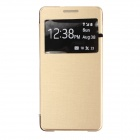 Flip Open / Window Case for Samsung Galaxy A5 - Golden