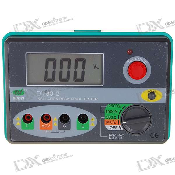 Professional 2.7 LCD 2500V Digital Insulation Resistance Tester футболка wearcraft premium slim fit printio совушка