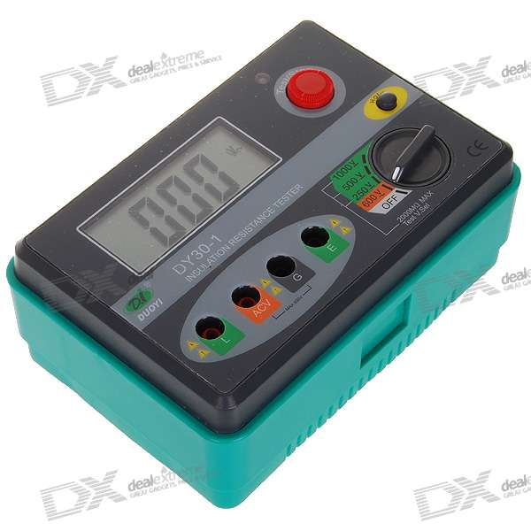 Insulation Resistance Tester : Cheap professional quot lcd v digital insulation