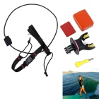 PANNOVO Surfing Fixed BMount for GoPro Hero 2 3 3+ 4 - Yellow + Black