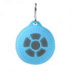MB4 Outdoor Sports Bluetooth V3.0 Speaker w/ Handsfree / Microphone / Hook - Blue