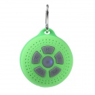 MB4 Outdoor Sports Bluetooth V3.0 Speaker w/ Handsfree / Microphone / Hook - Green