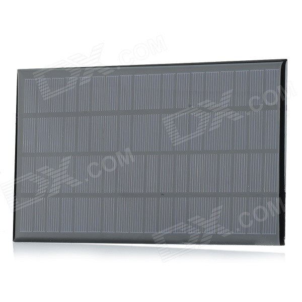 New Style Semi-finished DIY 18V 2.5W Solar Panel - Black