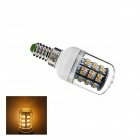 E14 3W Warm White Light 3000K 180lm 48 x 3528 SMD LED LED Corn Bulb - White (AC 220V)