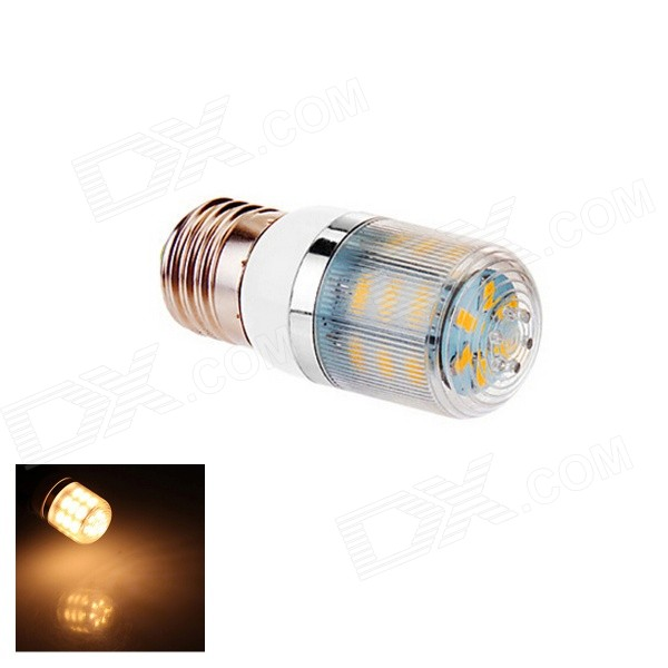 E27 4W Warm White Light 3000K 170lm 24*5630 SMD LED Bulb (220V)