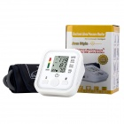 "B02R 2.2"" LCD Upper Arm Blood Pressure Monitor w/ ComFit Cuff - White"