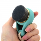 Make-up Water Drop Style Handle Facial Cleaning Brush - Green