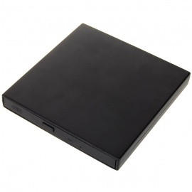 Slim Portable USB 2.0 External Optical CD-ROM Drive