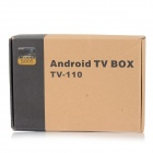 Quad-Core Android 4.4 TV Player w/ 1GB RAM, 8GB ROM - Black (US)