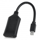 Active Mini DP to HDMI Adapter Cable - Black
