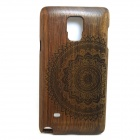 Buy LS-N4 Mandala Pattern Back Case Samsung Galaxy Note 4 - Brown
