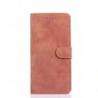 2-in-1 Detachable Frosted Protective PU + PC Case Cover w/ Card Slots for IPHONE 6 - Orange