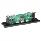 DIY 2 x 3W Amplifier MP3 Module Board + USB Bluetooth Converter + Remote Control - Black + White