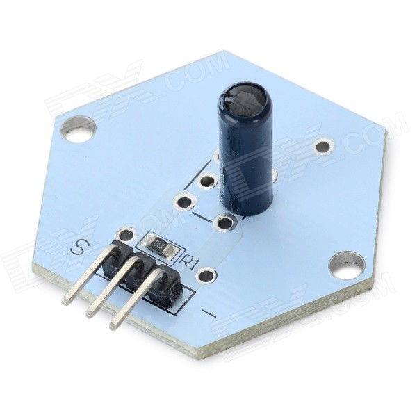 DIY Vibration Switch Sensor Module for Arduino - White + Black