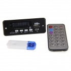 "USB 2.1 Bluetooth Converter compatível + 12V 1.0"" LED carro MP3 módulo w / Remote Control"