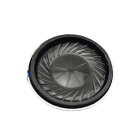 Jtron Ultrathin 1W 8ohm 20mm Round Speaker - Black + Silver