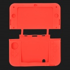 Protective Silicone Full Body Case Shell for 3DS XL - Red