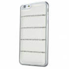 Rhinestones Encrusted TPU Back Case Cover for IPHONE 6 PLUS - White