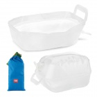 NatureHike Outdoor Camping Folding Collapsible PP Water Tank Container Carrier / Washbowl (10L)